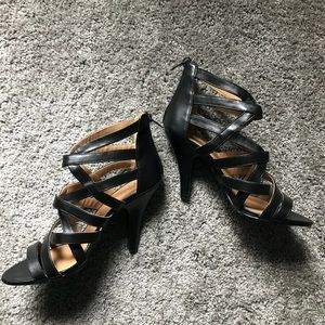 Shoes - Mint condition Strappy High Heels